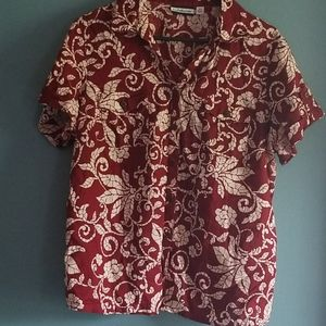 Crofts & Barrow Short sleeve Pattern shirt